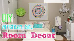 girl room decor diy american girl room decor youtube