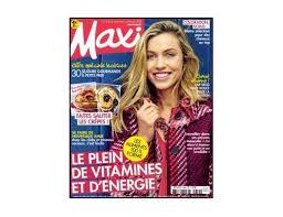 abonnement magazine maxi cuisine abonnement magazine maxi pas cher 39 9 l ée hebdo 52n