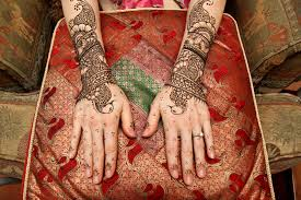 bridal style henna tattoo