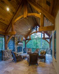 timber frame porches