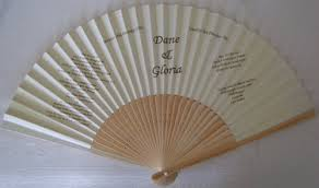 personalized fans for weddings wedding invitation wedding program fans fantastica uk supplier