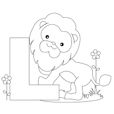 alphabet coloring pages u2013 letter l miscellaneous coloring pages