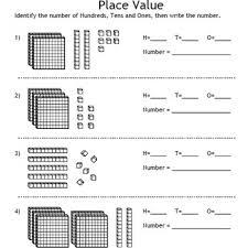 value and decimals fonts base 10 blocks houses decimal models
