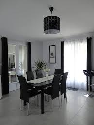 salon canapé noir deco salon noir et blanc salon canapé noir déco bois et gris for