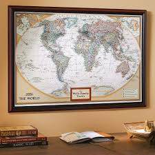 wall maps framed laminated wall maps national geographic store