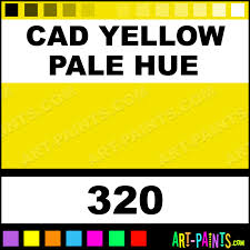 cadmium yellow pale hue academy oil paints 320 cad yellow pale