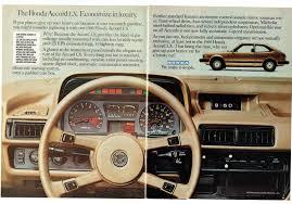 1980 Advertisement Honda Accord Lx Dash Dashboard Interior