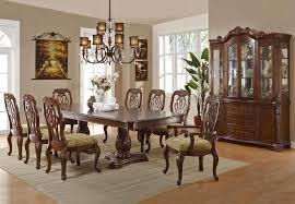 fancy dining tables cool elegant rustic dining room lighting with