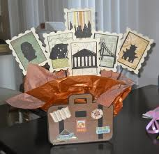 themed centerpieces great travel themed centerpiece for a retirement party all