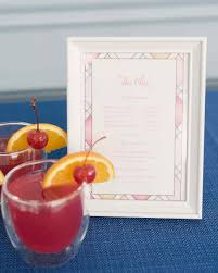 Drinks For Baby Shower - baby shower planning and etiquette martha stewart