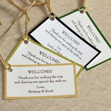 wedding gift bags for hotel labels for wedding gift bags lading for