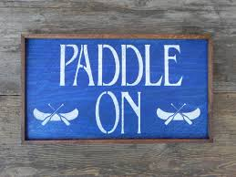 lake and lodge signs and home decor rustic wood sign canoe
