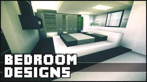 luxurius minecraft bedroom design with additional home decoration