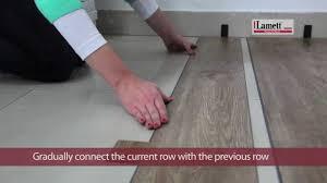 Youtube Laminate Flooring Installation Lamett Click Vinyl Youtube