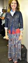 maxi dress and jean jacket short i love maxi dress