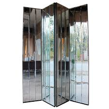 Mirror Room Divider by Henredon Mirrored Screen At 1stdibs