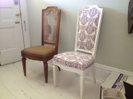 Recover Chair Gorgeous Ideas Reupholster Dining Room Chairs Reupholstering