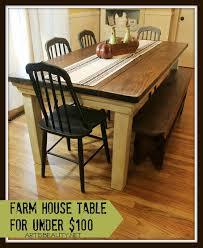 build a farmhouse table for under 100 remodelaholic bloglovin u0027