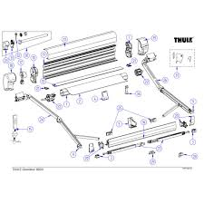 Awning Parts Omnistor Awning Spare Parts Thule Awnings Spare Parts
