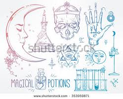 royalty free set of trendy vector alchemy symbols u2026 264086822
