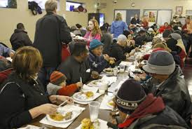places to volunteer for thanksgiving studies try to find why poorer people are more charitable than the