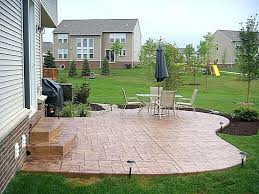 Patio Concrete Designs Old Concrete Patio Ideas Concrete Patio Ideas Of Caring Small