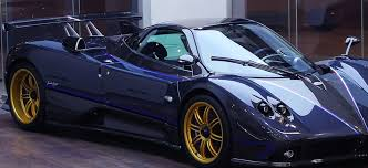blue pagani pagani zonda tricolore for sale cars