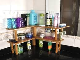 Bathroom Counter Shelves Awesome Bathroom Counter Organizer Gallery Liltigertoo