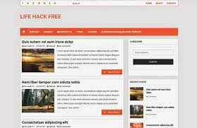 free website templates for android apps life hack website templates tamplates