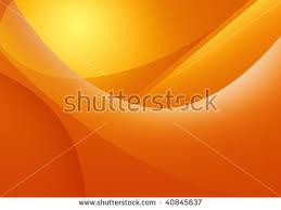 Warm Orange Color Warm Orange Color Background Abstract Art Stock Vector 436795660