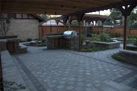 Patio Designs Using Pavers Backyard Paver Designs Impressive Backyard Patio Designs With