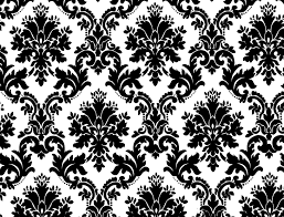 free vector seamless black and white floral design vector