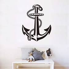 online shop anchor vinyl wall stickers super quality self adhesive
