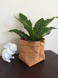 washable paper basket large washable paper plant holder
