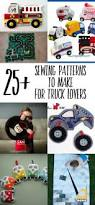 monster trucks trucks for children 25 truck sewing patterns for kids swoodson says