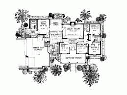 4 bedroom single story house plans eplans country house plan attractive single story design 2261