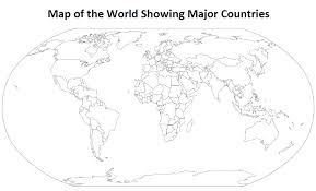 map of world fillable map of the world madrat co