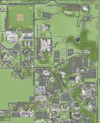 Arizona State University Campus Map by Location And Directions K State Challenge Course Rec Services