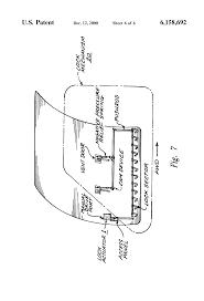 patent us6158692 main deck cargo door electric lock system