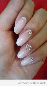 claws with bling nail art