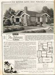 Sears Craftsman House Bungalow Floor Plans In The Sears Catalog 1915 To 1917 Modern