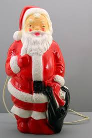 Outdoor Christmas Decorations Blow Mold by Amazon Com Light Up Santa Claus Empire 1968 Blow Mold Vintage