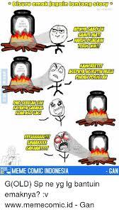 Comic Meme - disuru emak again iontong story siny ontong emaakkk problern meme