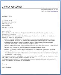 12 best images of executive assistant cover letter examples