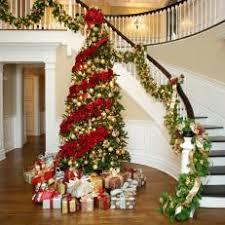 Christmas Banister Garland Photos Hgtv
