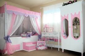 Mirrored Canopy Bed Girls Bedroom Cool Modern Bedroom Decoration Using Light Pink