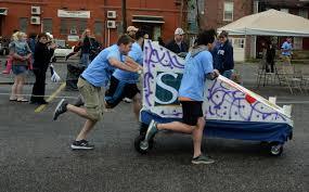 bell u0027s big bed race bell socialization services