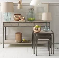 wood and metal console table wood and metal console table outdoor metal console table home