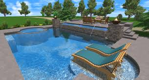 detail swimming pool designs plans in 3d view home design and