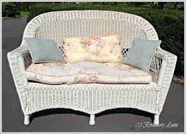 furniture mesmerizing wicker loveseat for outdoor or indoor and